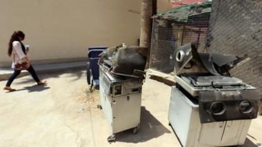 توقيف مدير مستشفى اليرموك ومعاونه للإهمال في الحريق
