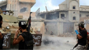 قوّات «البنيان المرصوص» تخسر 35 قتيلاً  و150 جريحًا في معارك سرت