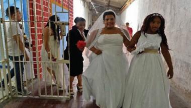 زواج جماعي في سجن كولومبي