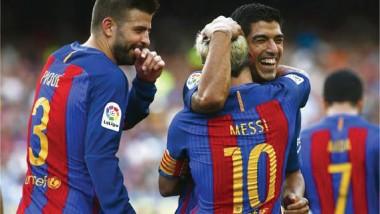برشلونة يسحق ريال بيتيس  في مستهل شوطه بالليجا