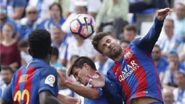 برشلونة يسحق ليجانيس بخماسية ويتصدّر الليجا مؤقتاً