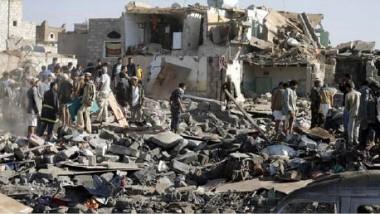أكثر من 60 قتيلاً بغارات للتحالف العربي  على سجن في الحديدة غربي اليمن