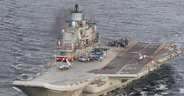 روسيا ترسل أسطول من السفن الحربية عبر السواحل البريطانية باتجاه سوريا