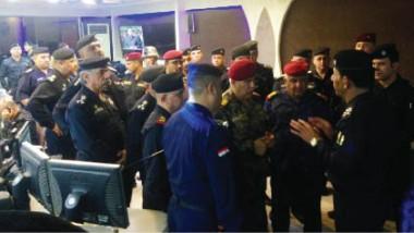 عمليات بغداد وشرطة النجدة تفتتح منظومة حديثة للحد من الجريمة