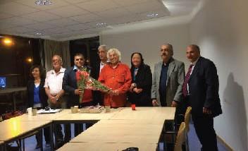 """حفل توقيع كتاب """"أغنيات حب"""" في البيت العراقي في هولندا"""