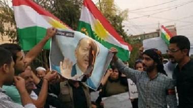 متظاهرون في السليمانية يطالبون بإخراج القوّات التركية وإغلاق قواعدها المنتشرة في الإقليم