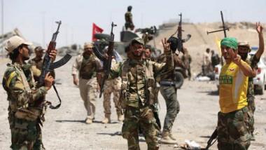 الحشد الشعبي يباشر بردم أنفاق داعش في بادوش