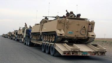 وصول تعزيزات عسكرية كبيرة للمشاركة في عمليات تحرير الموصل