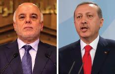 """العبادي متهكماً من """"السلطان العثماني"""": تركيا ضمن حدود بغداد بخلافة العباسيين"""