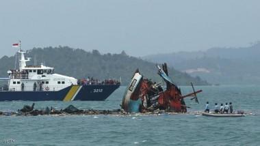 ارتفاع عدد ضحايا غرق قارب في اندونيسيا إلى 36 قتيلاً