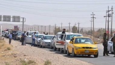 الهلال الأحمر تُعلن نزوح 26 ألف شخص من الموصل