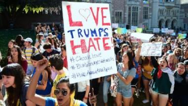 تظاهرات في مدن أميركية عديدة احتجاجا على فوز ترامب بالانتخابات الرئاسية