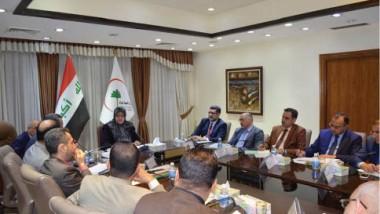 وزيرة الصحة تدعو إلى تقديم أفضل الخدمات الطبية للنازحين في نينوى
