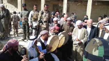 الإيزيديون يعيدون إحياء مراسيمهم الدينية بعد طرد داعش من بعشيقة