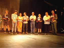 عرض ناجح لـ(مكاشفات) في ختام مهرجان بجاية الدولي الثامن للمسرح