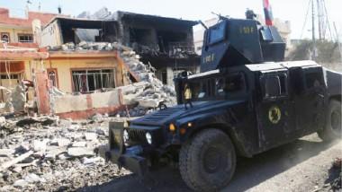 مكافحة الإرهاب يعزز انتصاراته بالتقدم في أربعة أحياء في الموصل