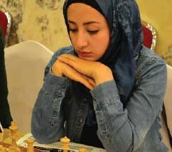 كارين كمال تحرز فضيّة العرب بالشطرنج