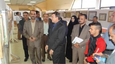 معرض للخط العربي والزخرفة في كربلاء