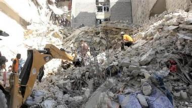 مقتل 73 شخصاً في ضربات جوية على منطقة  تسيطر عليها المعارضة في إدلب