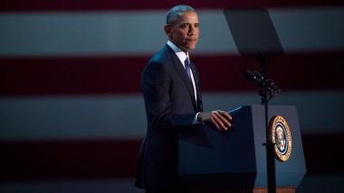 أوباما يودّع البيت الأبيض بالدموع  في خطابه الرئاسي الأخير