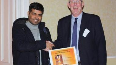 عراقي يحصل على جائزة أفضل بحث في مؤتمر جامعة دندي البريطانية