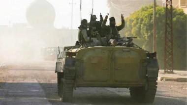 تحرير الحي العربي الأول شمالي الجانب الأيسر للموصل