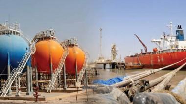 مواصلة عمليات تصدير الغاز السائل والمكثّفات الى الأسواق العالمية