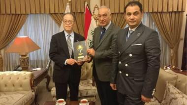 «الأولمبية» تبحث مع السفير الياباني تحضيرات العراق لأولمبياد طوكيو