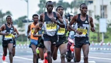 سيطرة إثيوبية على المراكز  الأولى في ماراثون دبي