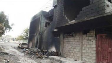 """""""داعش"""" يتخبط ويلجأ إلى حرق مضافاته ومقراته"""