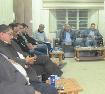 صحفيو البصرة يحتفلون بعيدهم السنوي لتحقيق الخدمة الصادقة للعراق