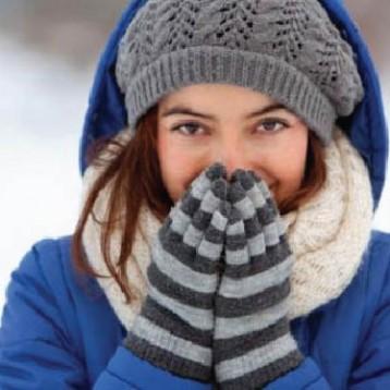 شعور المرأة بالبرد أكثر من الرجل
