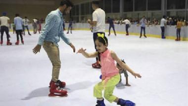افتتاح قاعة للتزلج في البصرة في إطار مشروع استثماري