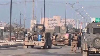 داعش يحرق بيوت عناصره الهاربين بجانب الموصل الأيمن