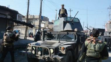 """""""مكافحة الإرهاب"""" يطهّر 3 أحياء أخرى في الساحل الأيسر لمدينة الموصل ويقتل 70 إرهابياً"""
