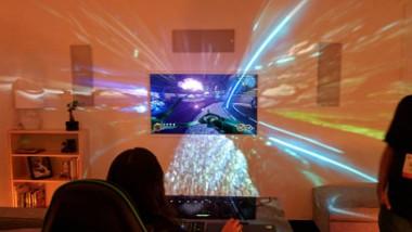 ماذا لو غادرت ألعاب الفيديو الشاشة واحتلت كامل غرفتك؟