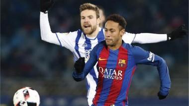 برشلونة ينهي عقدة «أنويتا» ويُسقط سوسييداد بالكأس
