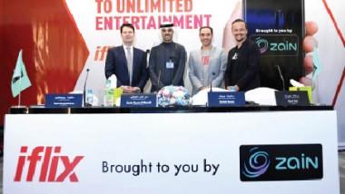 «زين» تطلق «iflix Arabia» لخدمات بثّ الأفلام والمسلسلات التلفزيونية عبر الإنترنت