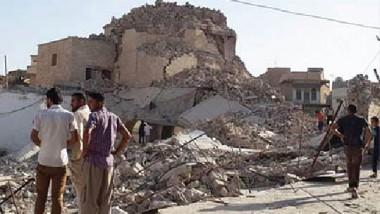 أهالي «الموصل« يرممون منازلهم ويرقصون فوق أنقاضها