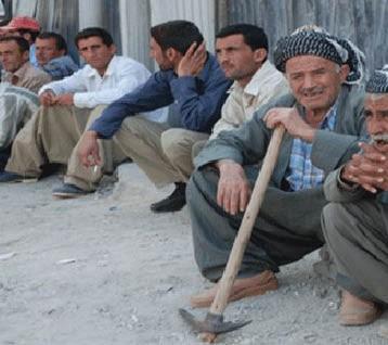 ارتفاع مستويات البطالة إلى 22 % يعطّل  أكثر من  600 ألف عامل في كردستان