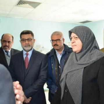 وزيرة الصحة تعلن افتتاح مستشفى الطفل والولادة والكحلاء