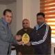 «رياضة أهل الحق» تكرّم  علاء عبد القادر بدرع الممثلية