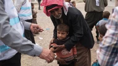 الصحة العالمية تسلّم الأدوية إلى المناطق المحررة شرق الموصل