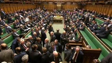 تصويت في مجلس العموم البريطاني بالخروج من الاتحاد الأوروبي