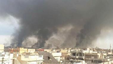 داعش لعناصره: أحرقوا كل شيء في الساحل الأيمن من الموصل