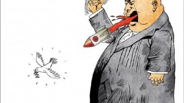 رئيس كوريا الشمالية عن موقع «كاريكاتير سياسي»