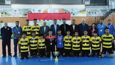 ميسان يظفر بكأس بطولة «التحرير الأولى» وبغداد وصيفاً