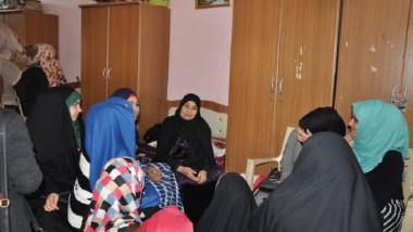 معايشة في معهد الصم والبكم ودار المسنين في المحافظة