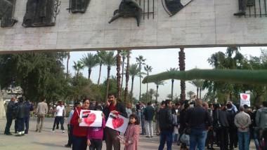 في عيد الحب يجدد العراقيون عهود الوفاء للوطن