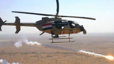 مقتل 60 إرهابياً وتدمير 15 عجلةً بقصفٍ جوي غرب الموصل